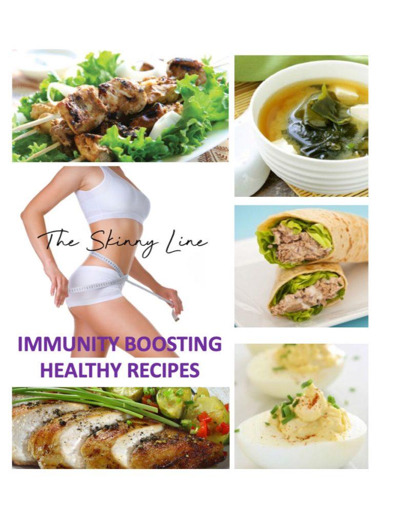 skinny line meal recipe book