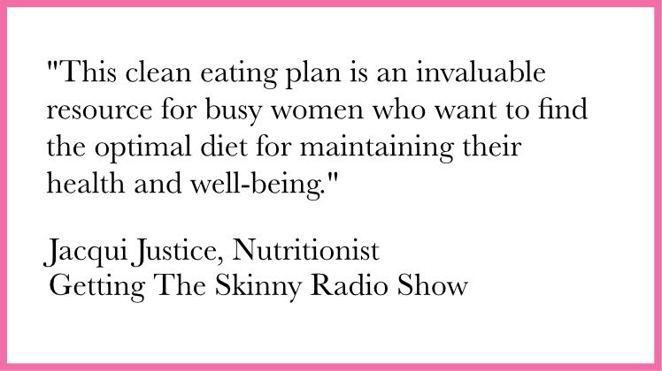 jacqui justice nutrition quote